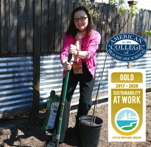 ACHS Receives Gold Certification for Sustainability